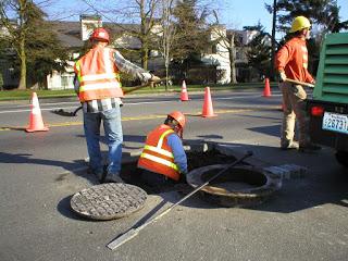 Square Manhole Repair
